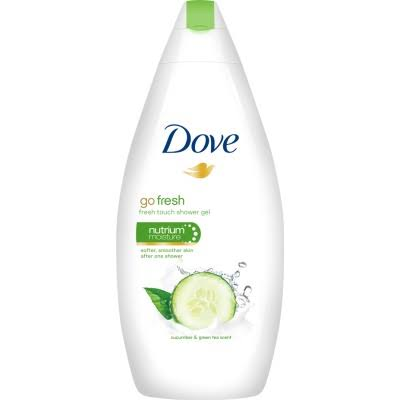 Dove Go Fresh Cucumber and Green Tea Scent Shower Gel - 500ml
