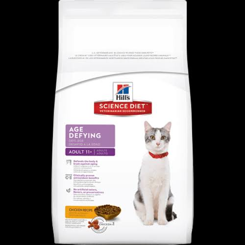 Hill's Science Diet 11 Age Defying Chicken Recipe Dry Cat Food - 7lb