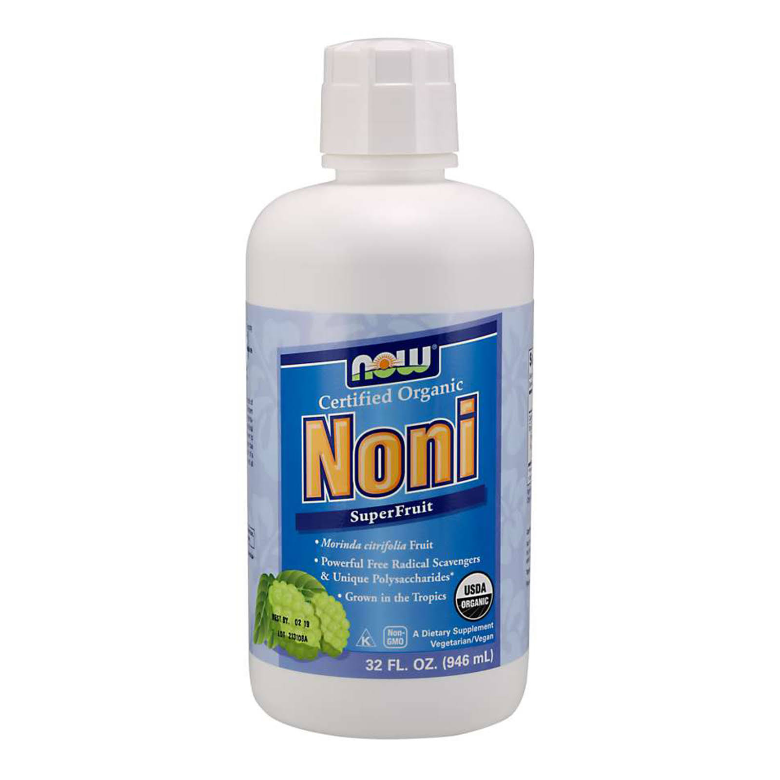 NOW Foods Organic Noni Juice - 32oz