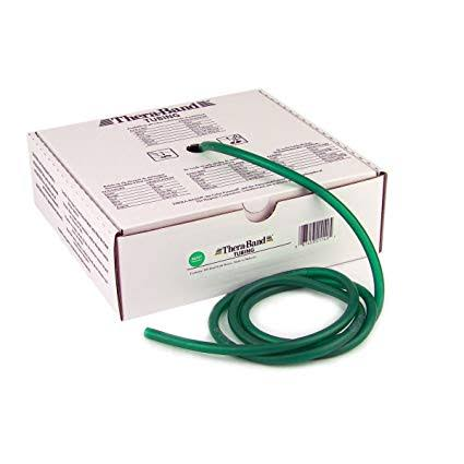 Thera-Band TB-21040 Latex Heavy Resistance Exercise Tubing, Green