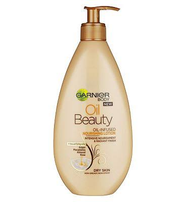 Garnier Oil Beauty Nourishing Body Lotion - Dry Skin, 400ml