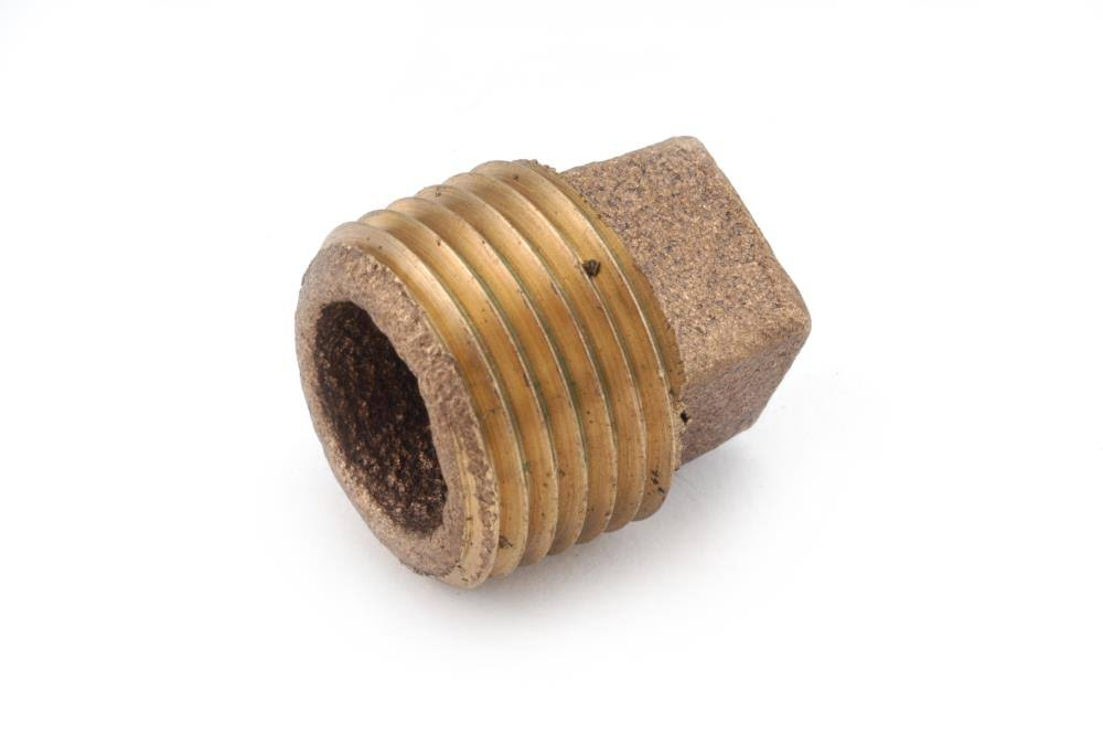 Anderson Metal 738109-08 Cored Pipe Plug - 1/2""