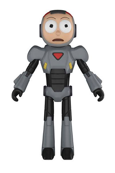 Funko Rick and Morty Purge Suit Action Figure - 12cm
