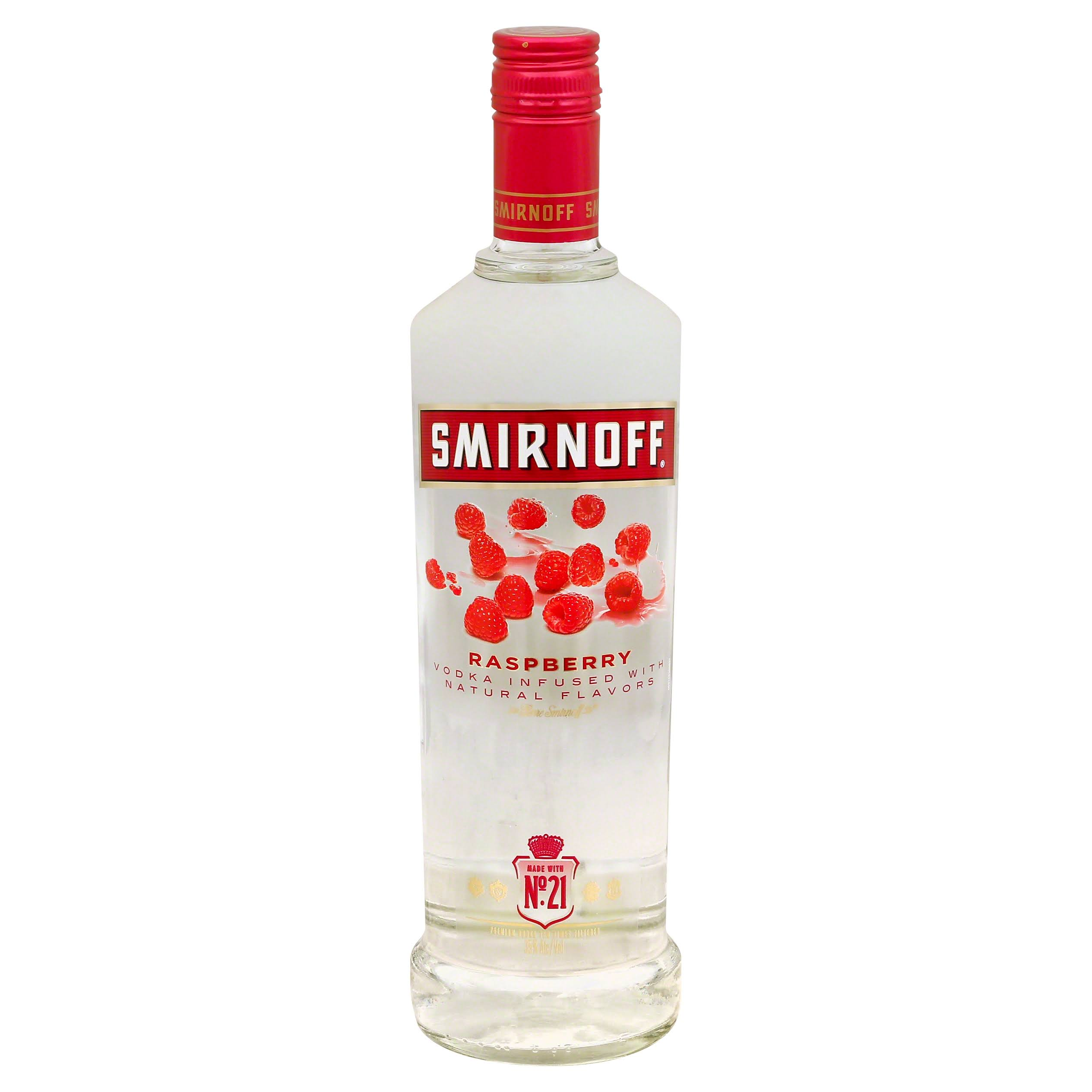 Smirnoff Vodka - Raspberry Twist