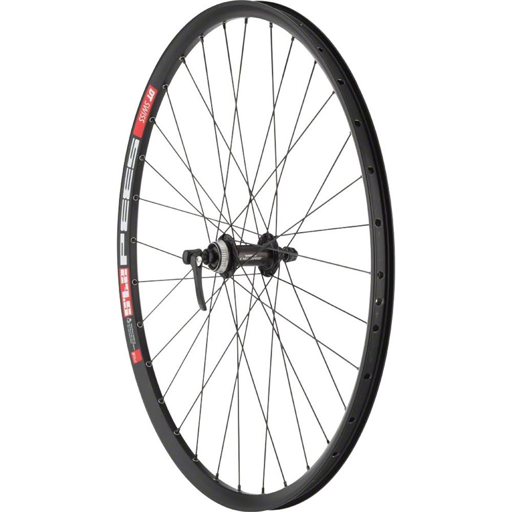 "Quality Wheels Mountain Disc Front Wheel DT 533d Deore M610 27.5"" QR 100mm Black"