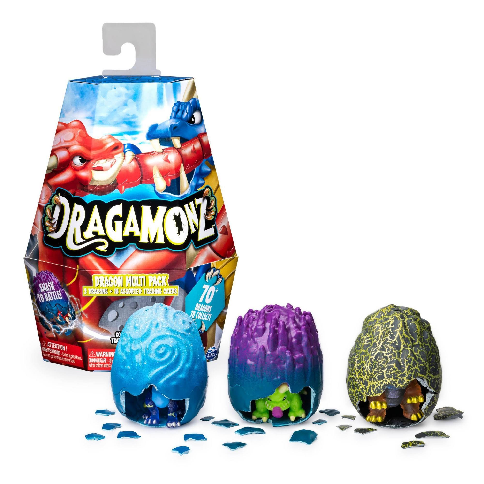 Dragamon Collectible Figure And Trading Fun Card Game Starter Pack