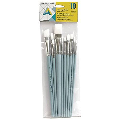 Art Alternatives Acrylic Brush 10 Set