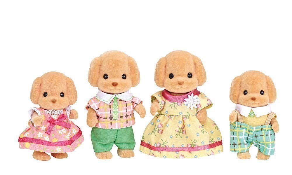Calico Critters - Toy Poodle Family