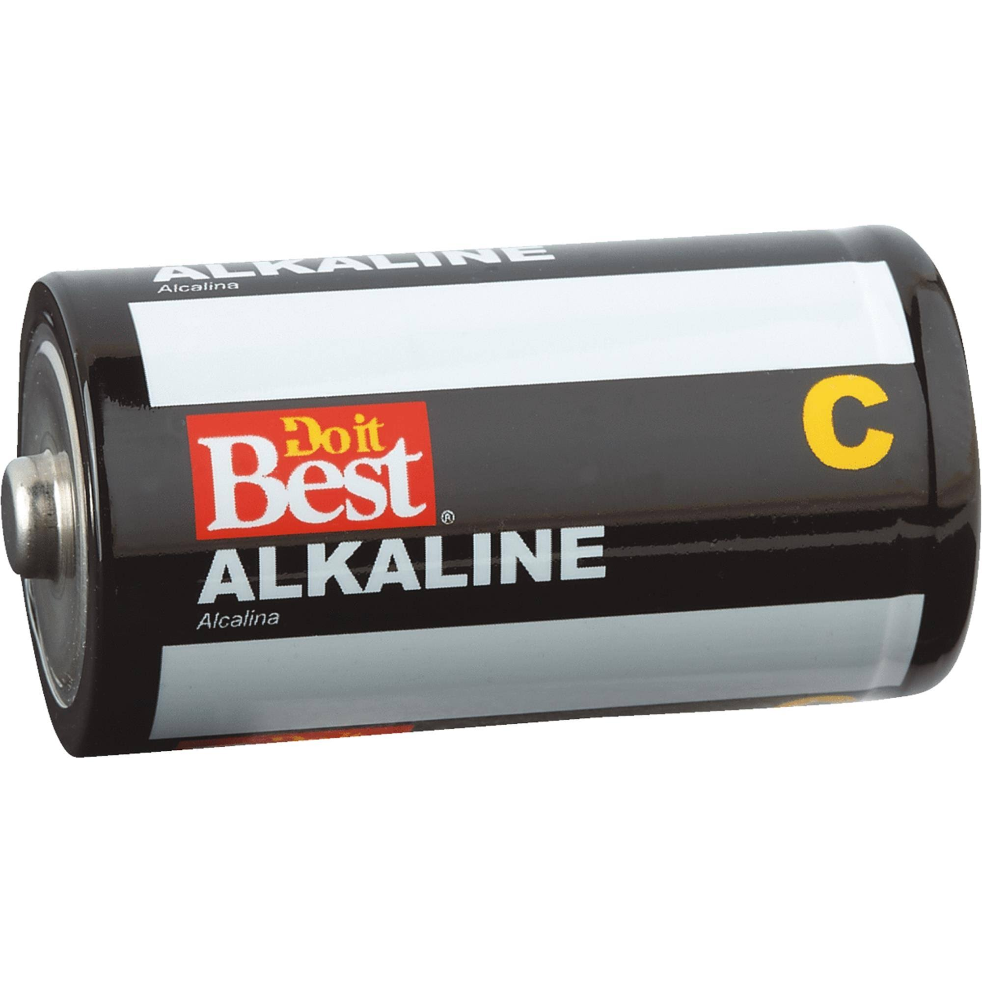 Do It Best C Alkaline Battery