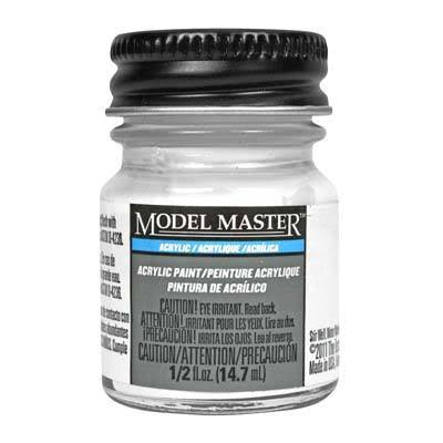 Testors Model Master Acrylic Paint - Flat White