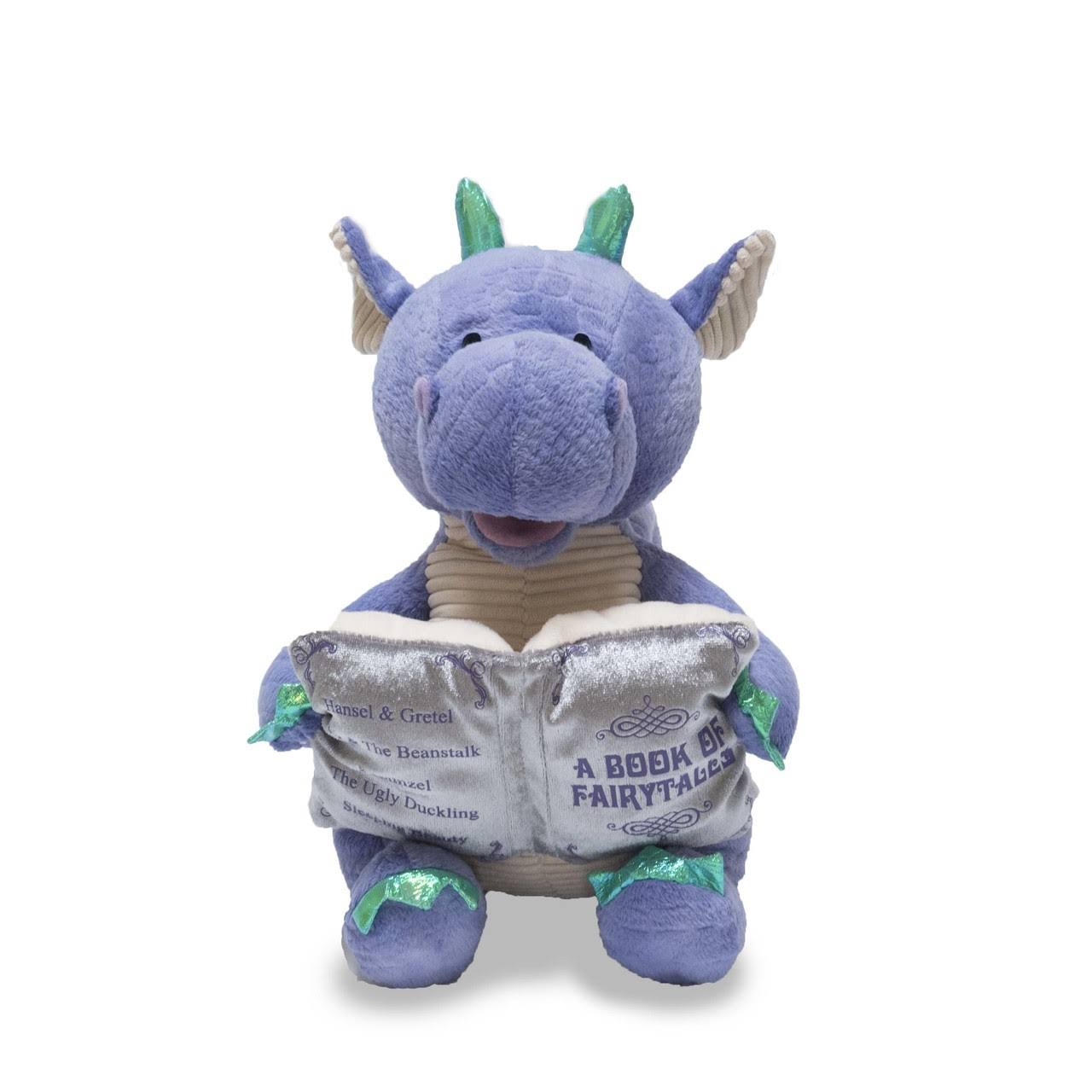 Cuddle Barn Dalton The Storytelling Dragon Animated Plush Stuffed Animal - 12""