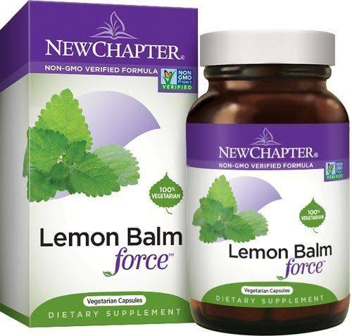 New Chapter Lemon Balm Force - 30 Capsules
