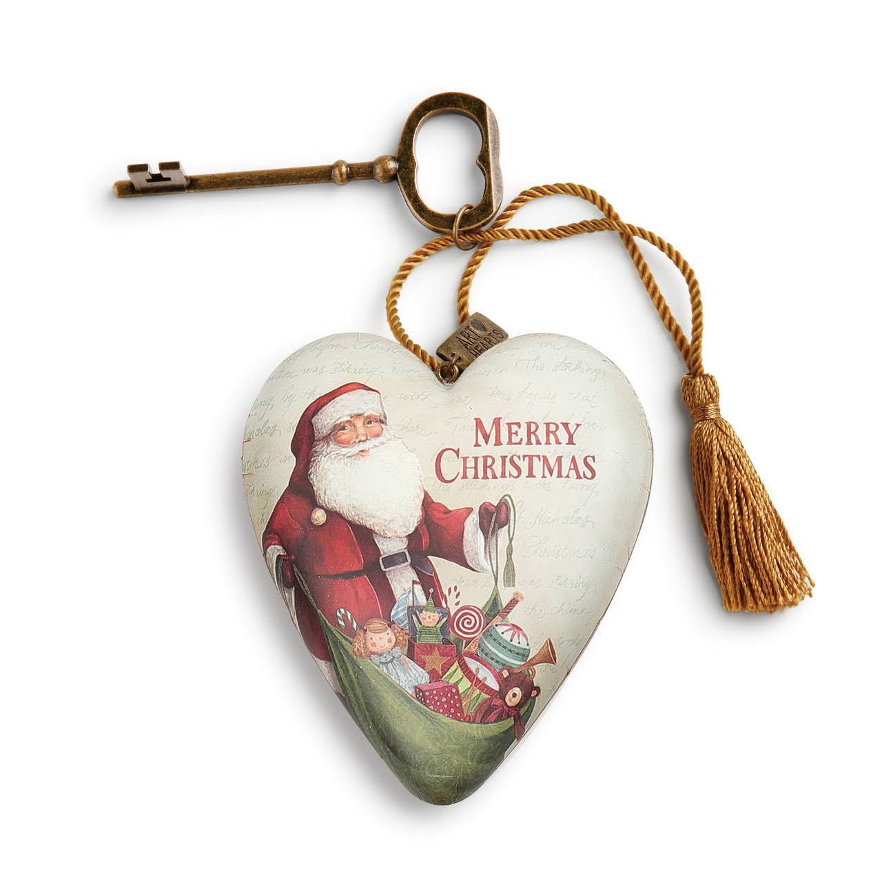 Demdaco Wall Art 'Merry Christmas' Heart Décor One-Size