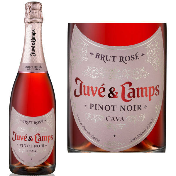 Juve Y Camps Brut Pinot Noir Rose (Spain) NV