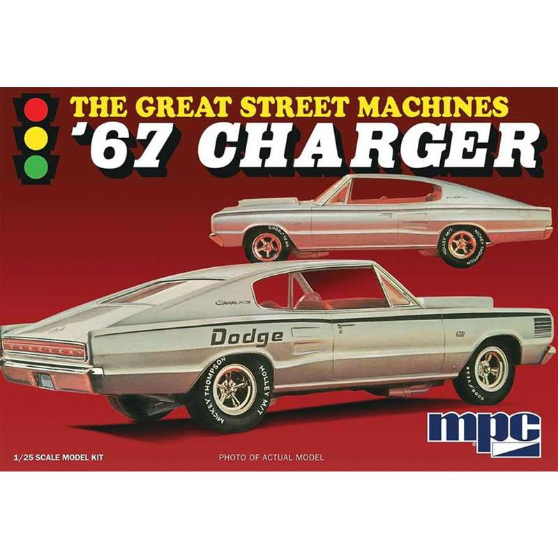 MPC Mpc829 1967 Dodge Charger Great Steet Machines Scale Model Car