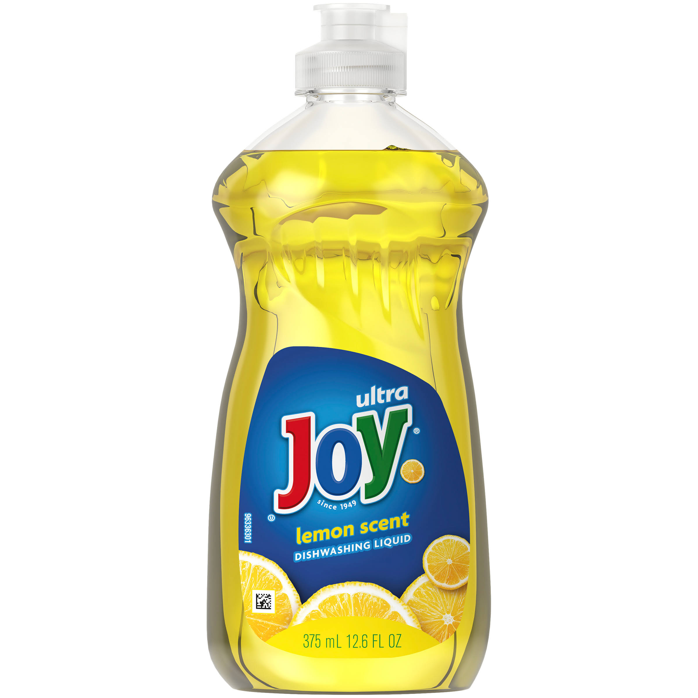 Joy Ultra Dishwashing Liquid - Lemon Scent, 12.6oz
