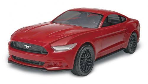 Revell Snaptite Build and Play 2015 Mustang GT Plastic Model Kit - 1:25 Scale, Red