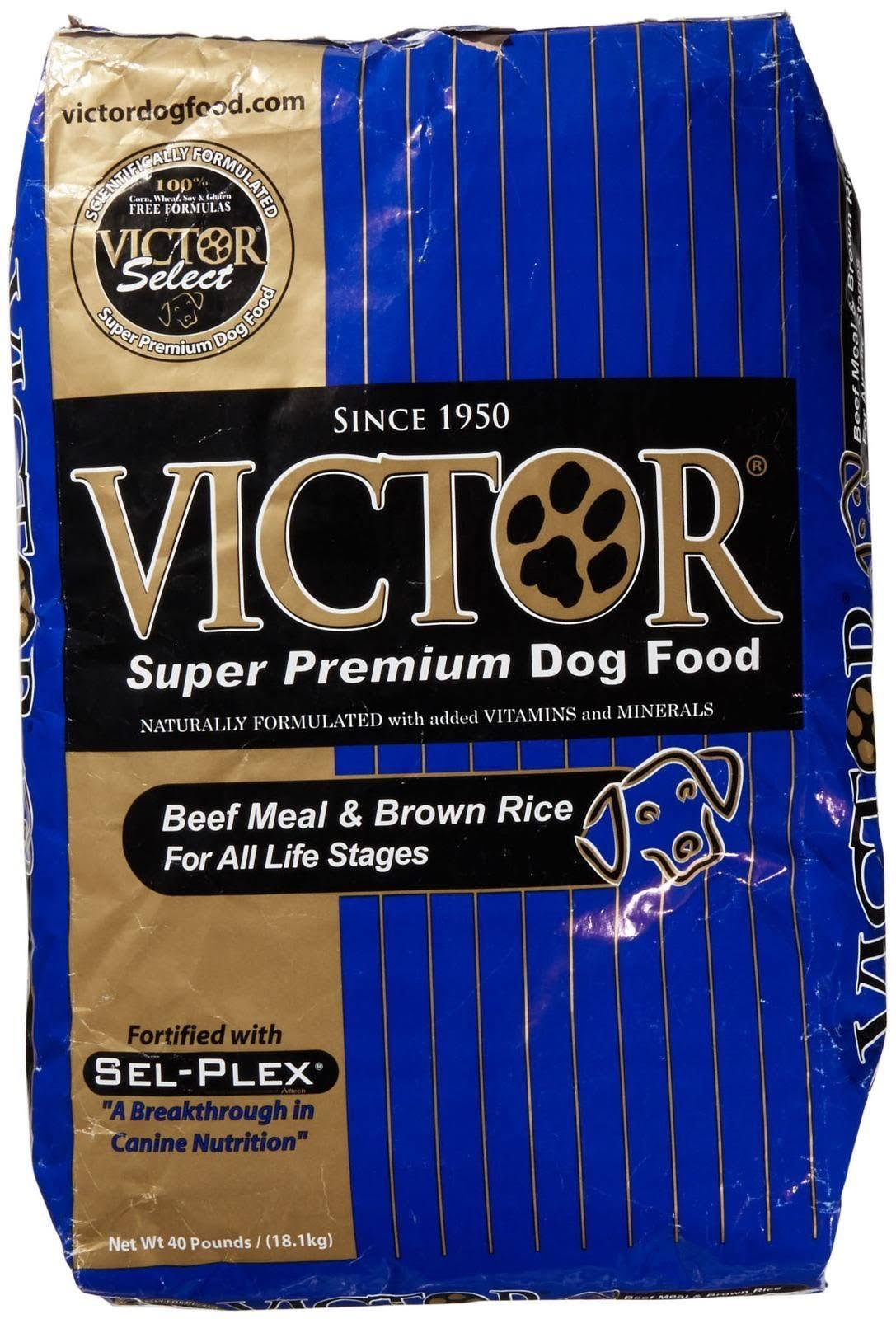 Victor Super Premium Dog Food - Beef Meal and Brown Rice, 40lb