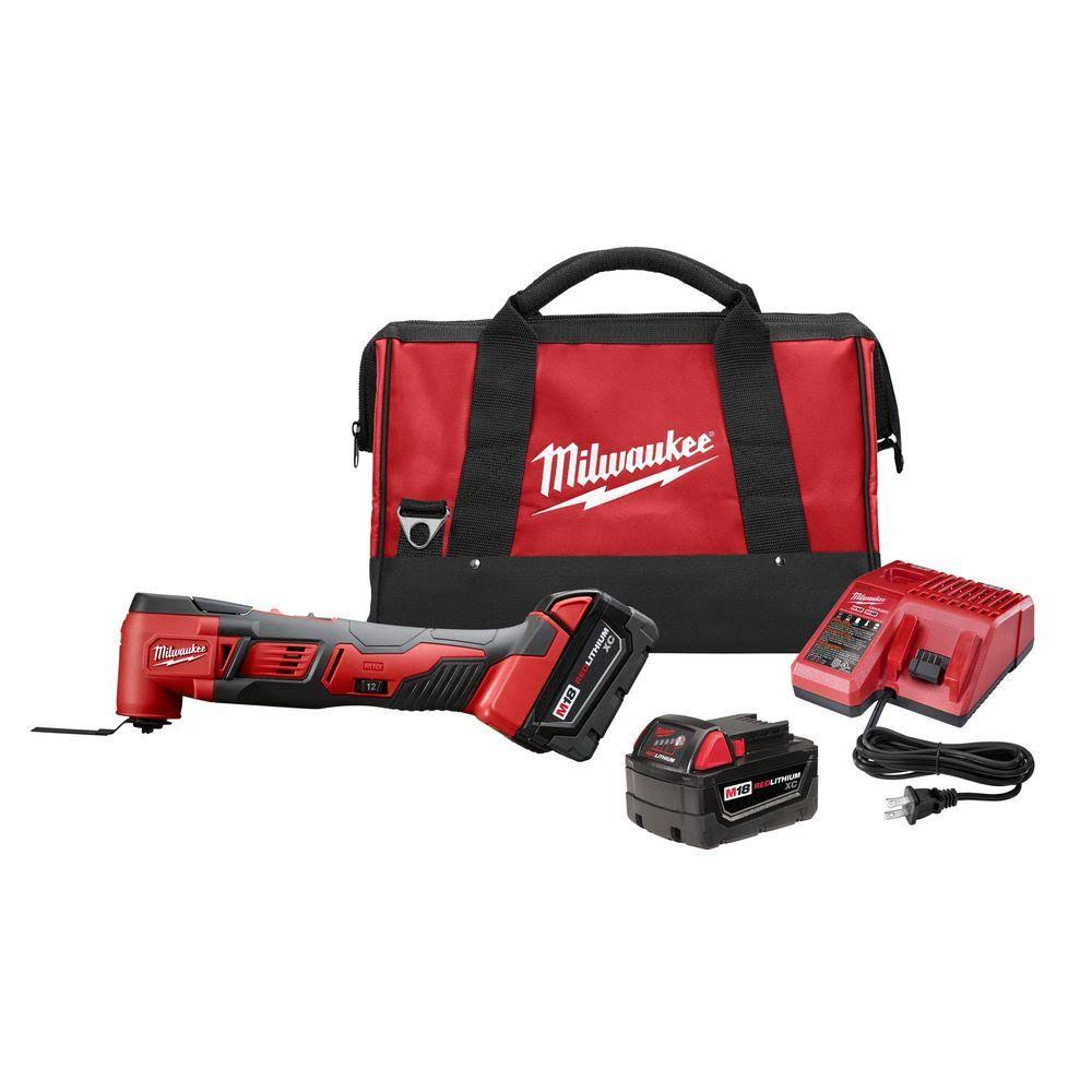 Milwaukee M18 Lithium-Ion Cordless Oscillating Tool Kit
