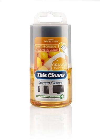 Techlink Screen Cleaner Orange