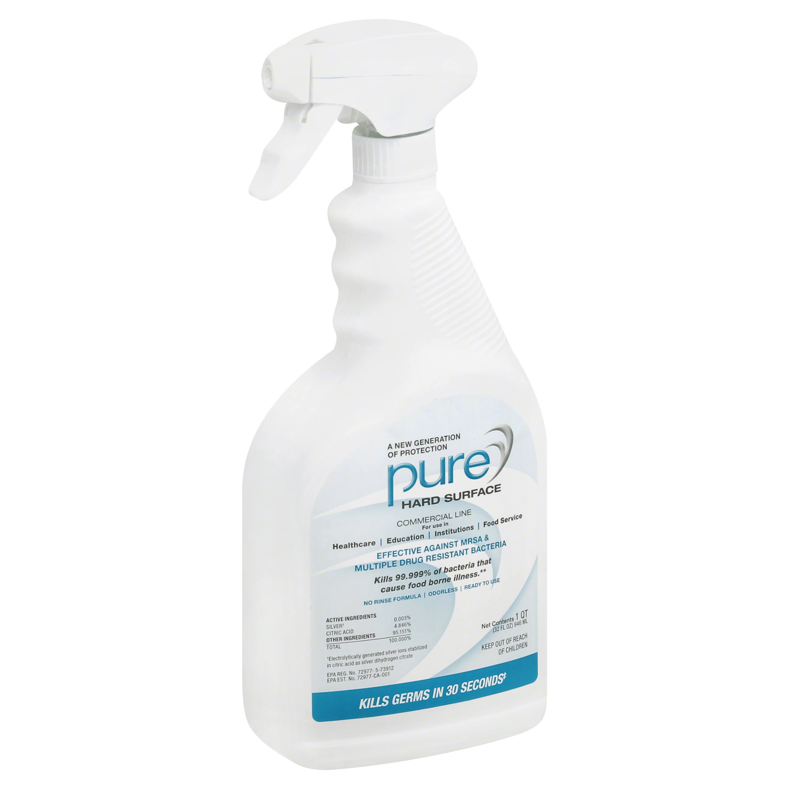Pure Hard Surface, Protection, Commercial Line - 32 fl oz