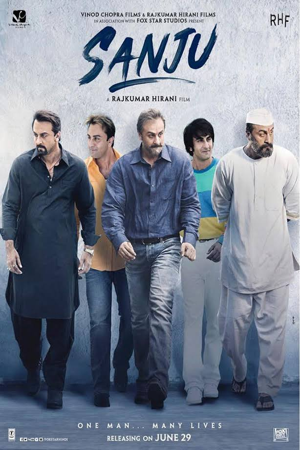 Sanju 2018 Full Movie Download Pre DVDRip 200MB 400MB And 800MB