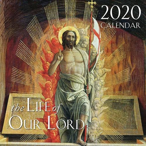 Tan Books 2020 Life of Our Lord Catholic Wall Calendar