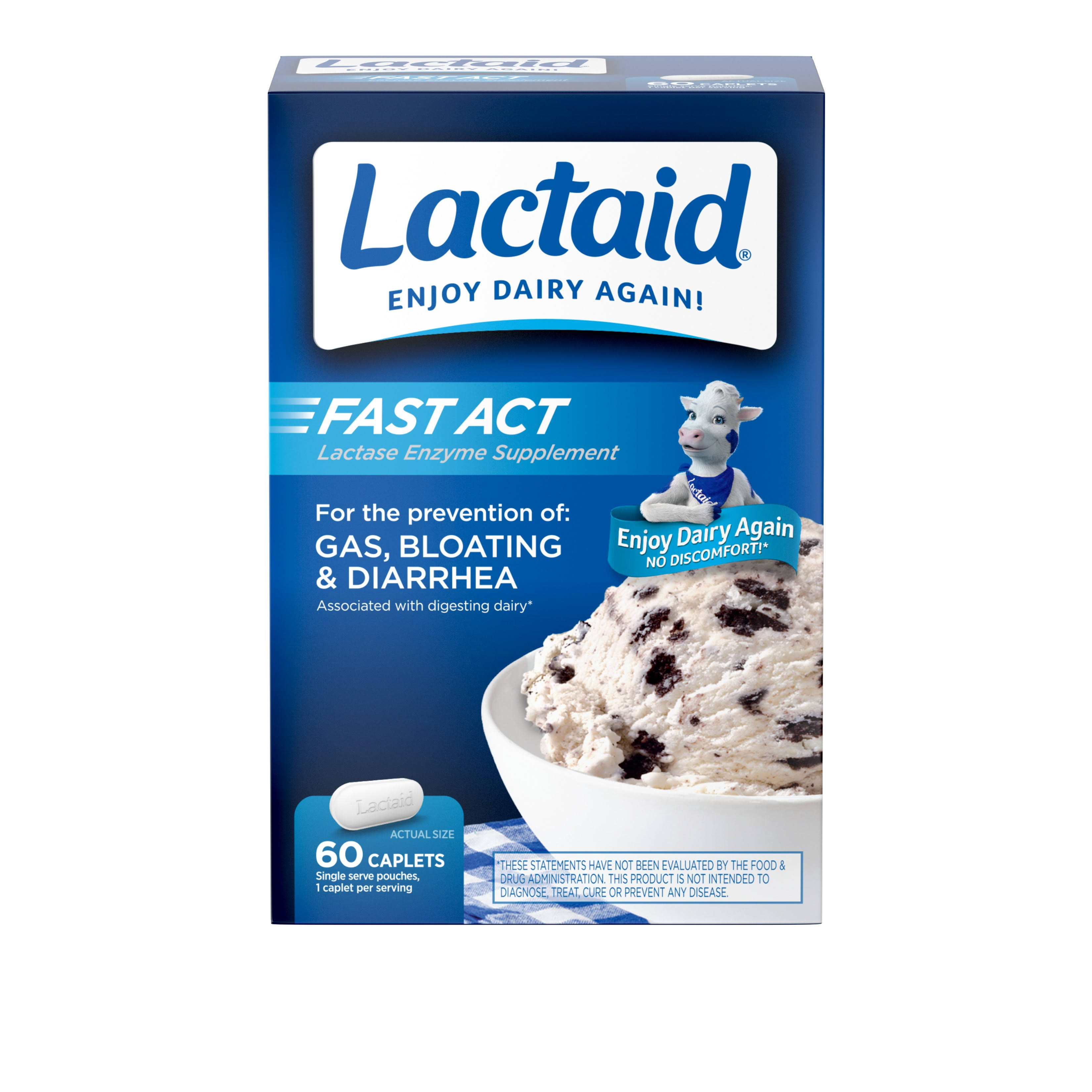 Lactaid Fast Act Caplets - x60
