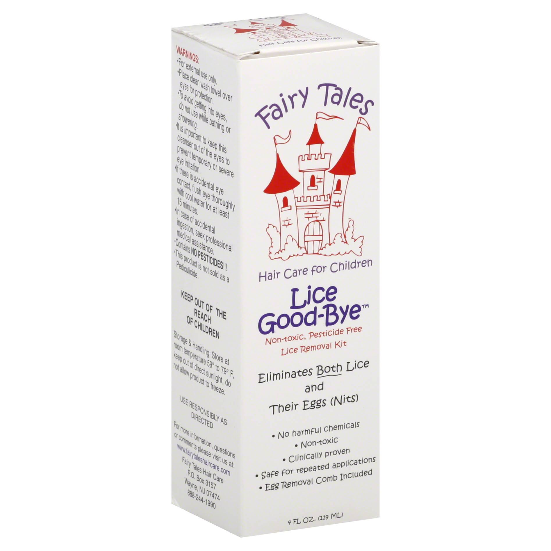 Fairy Tales Lice Good-Bye Removal Kit with Comb - 4oz