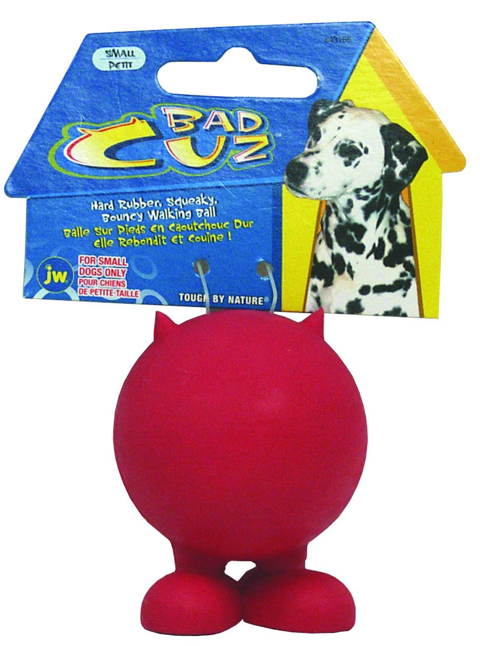 JW Pet Company Bad Cuz Dog Toy - Small