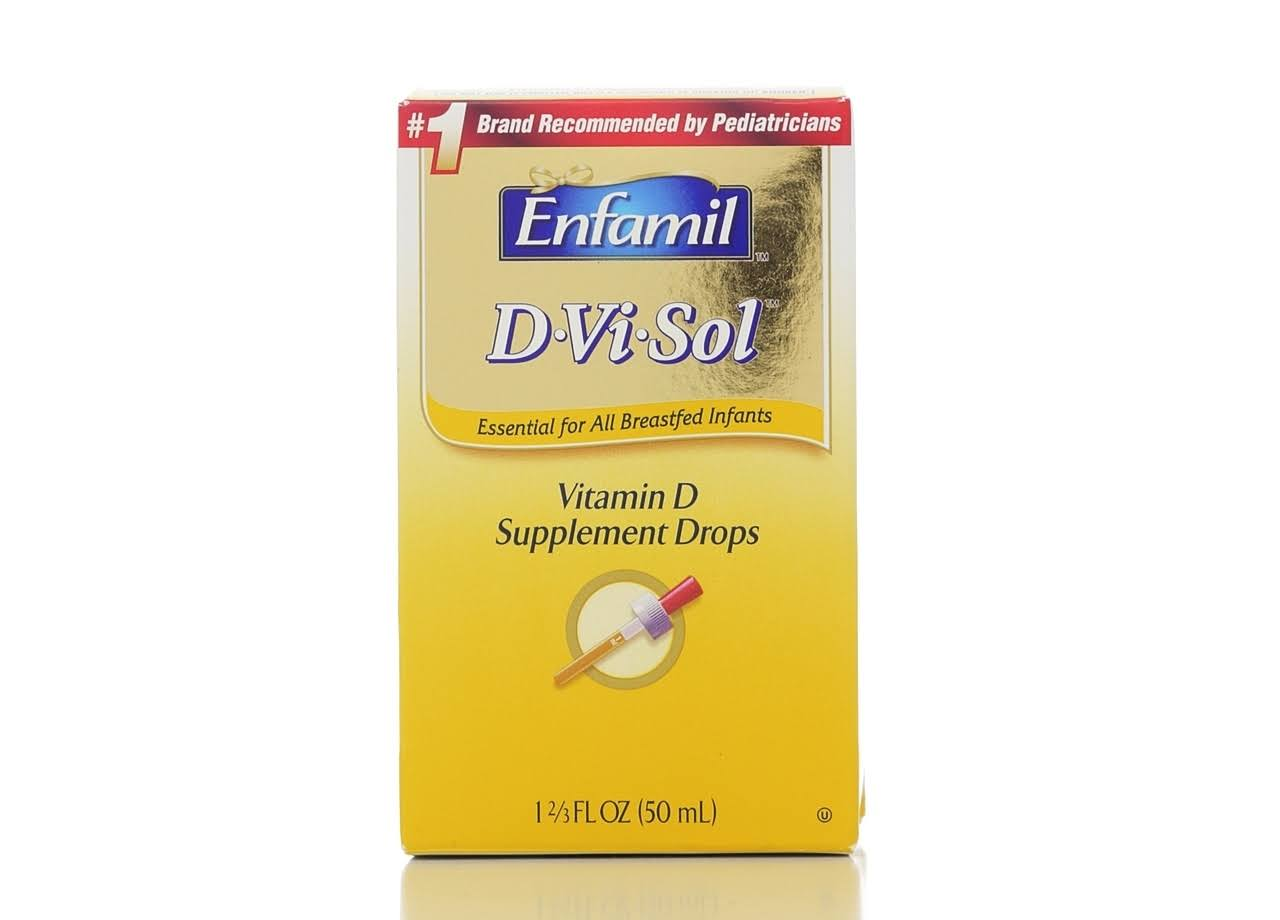 Enfamil D-Vi-Sol Vitamin Drops - 50ml