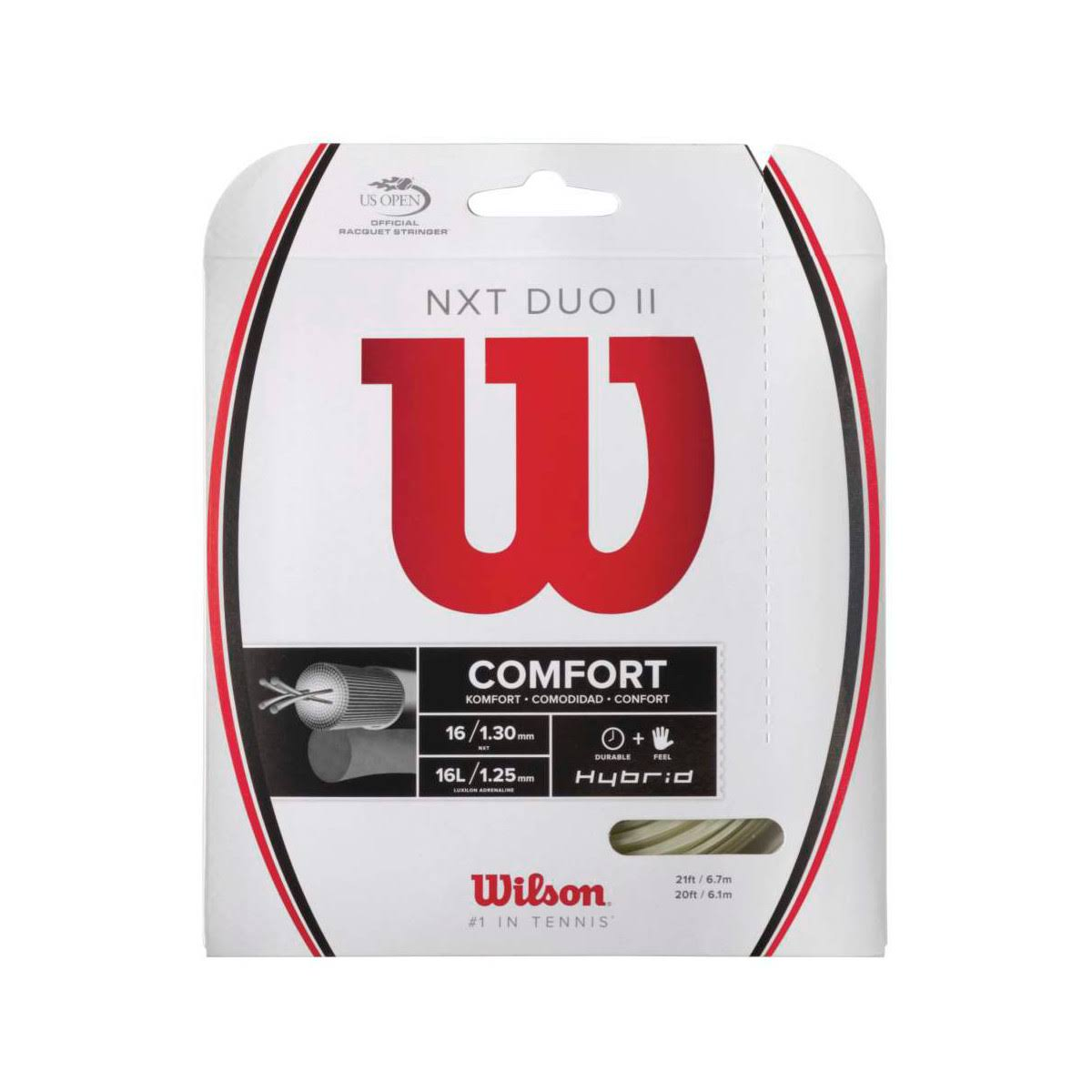 Wilson NXT Duo II Hybrid Tennis String Set