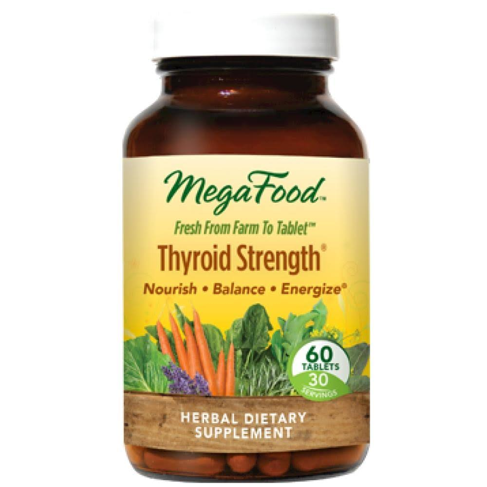 Megafood Thyroid Strength Supplement - 60 Tablets