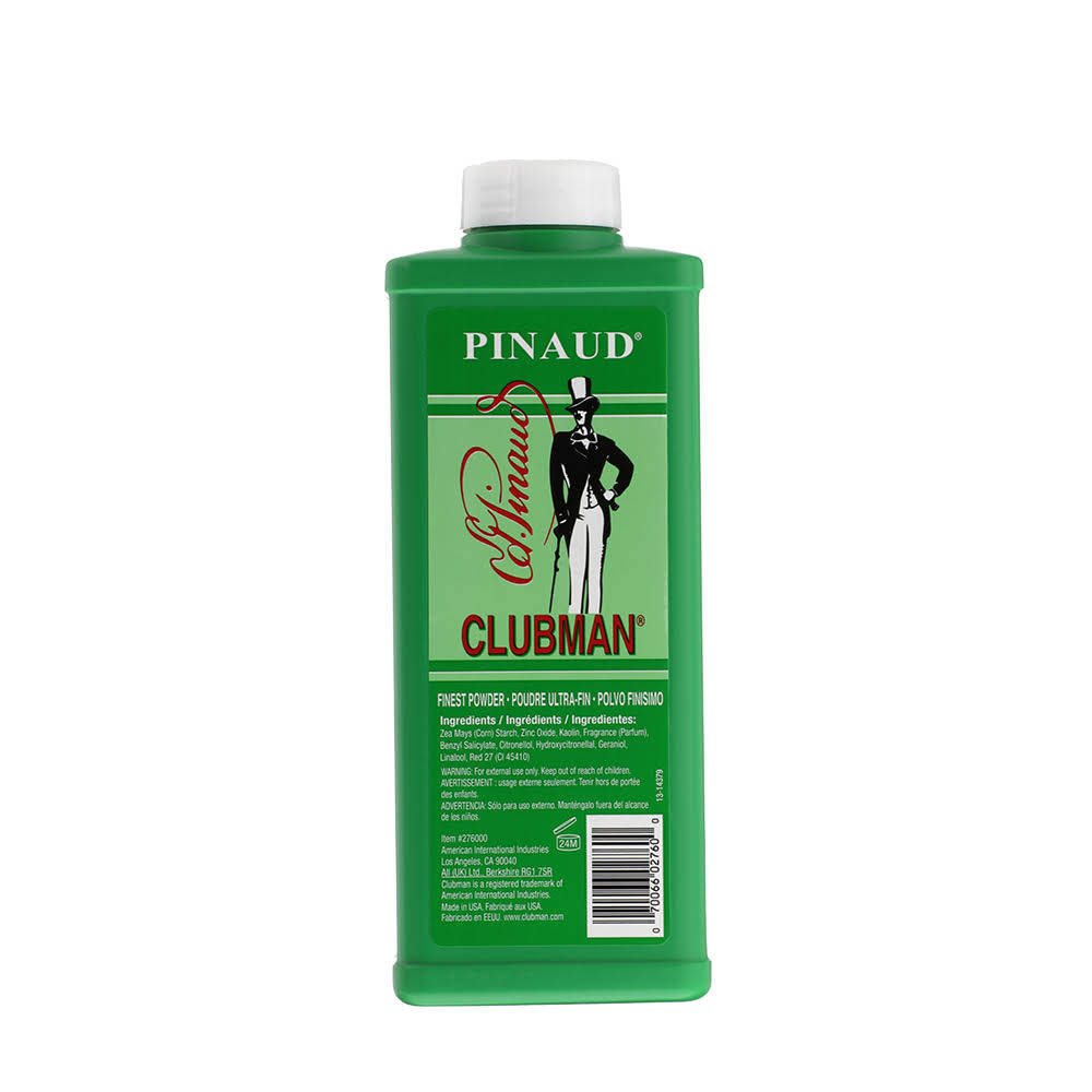 Clubman Pinaud Finest Talc Powder - 9oz