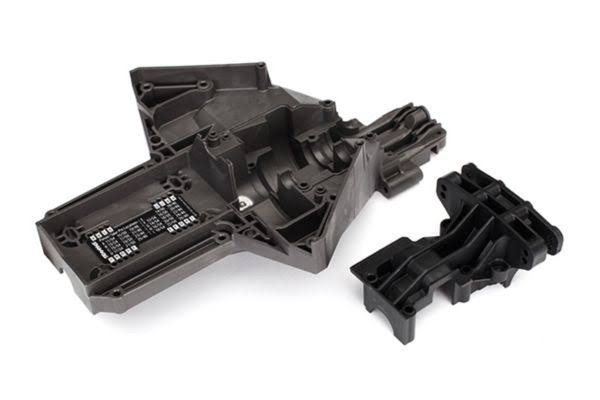 Traxxas Bulkhead Rear Upper Lower Center X-Maxx Differential