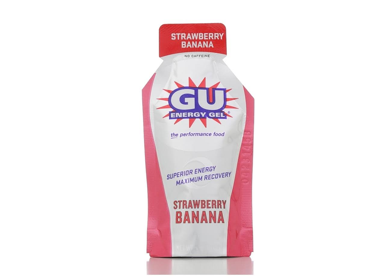 Gu Energy Gel - Strawberry Banana, 32g