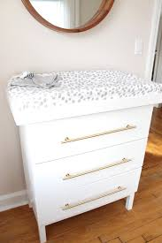 Ikea Tarva 6 Drawer Dresser by The Picket Fence Projects A Changed Changing Table