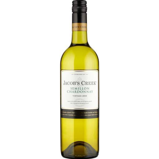 Jacob's Creek Semillon Chardonnay White Wine - 75cl
