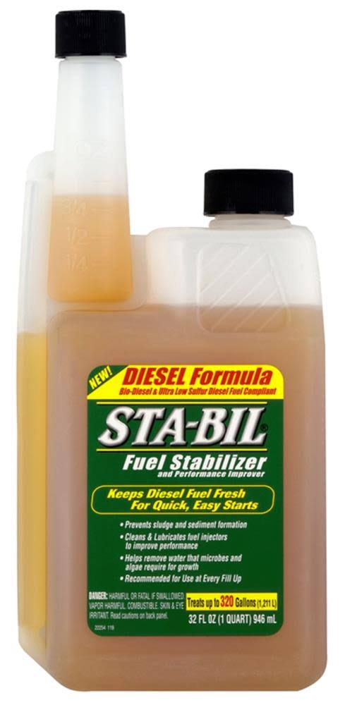 Sta-Bil Diesel Formula Fuel Stabilizer & Performance Improver - 32oz