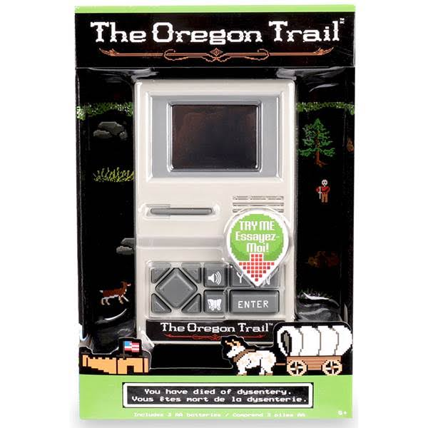 Basic Fun The Oregon Trail Electronic Handheld Video Game