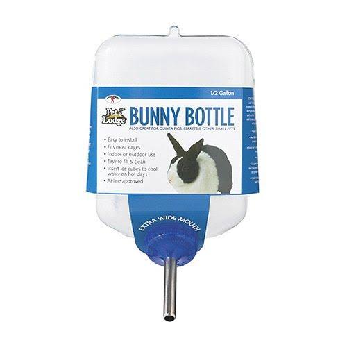 Miller Manufacturing BB64 Bunny Drinking Bottle - for Small Animals, 64oz