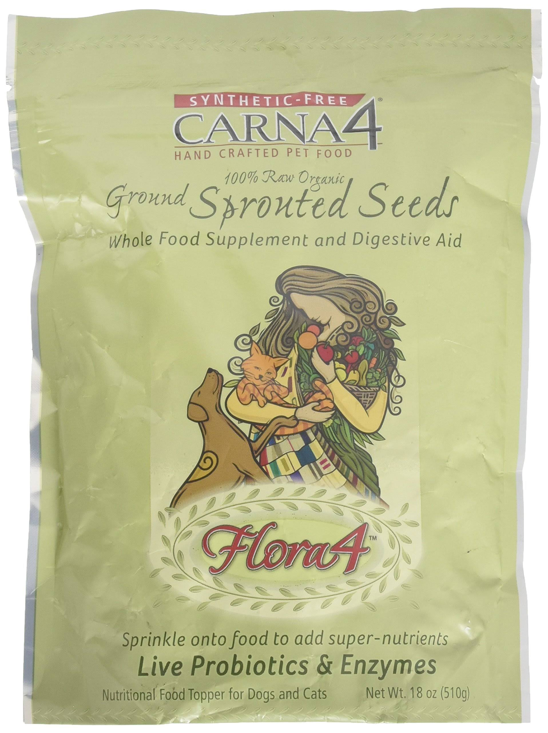 Carna4 Flora4 Raw Food Topper - 18oz