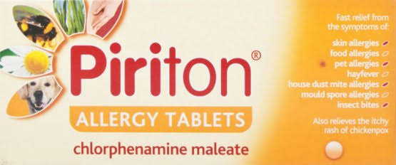Piriton Antihistamine Allergy Relief - 30ct