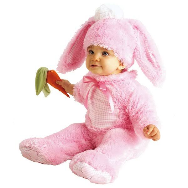 Rubies Bunny Infant Costume - Pink, 6 to 12 Months
