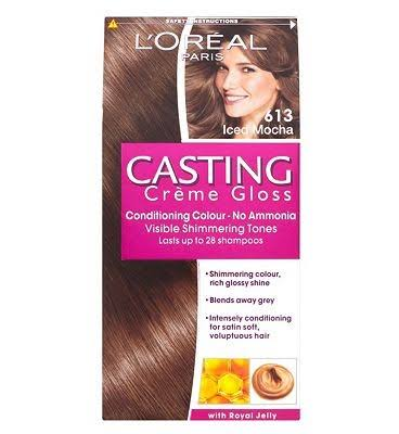 L'Oreal Casting Creme Gloss 613 Iced Mocha Brown Semi Permanent Hair Dye