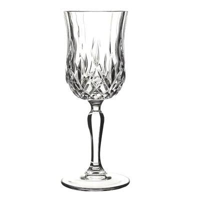 Lorren Home Trends Opera Wine Glass - Clear, Set of 6