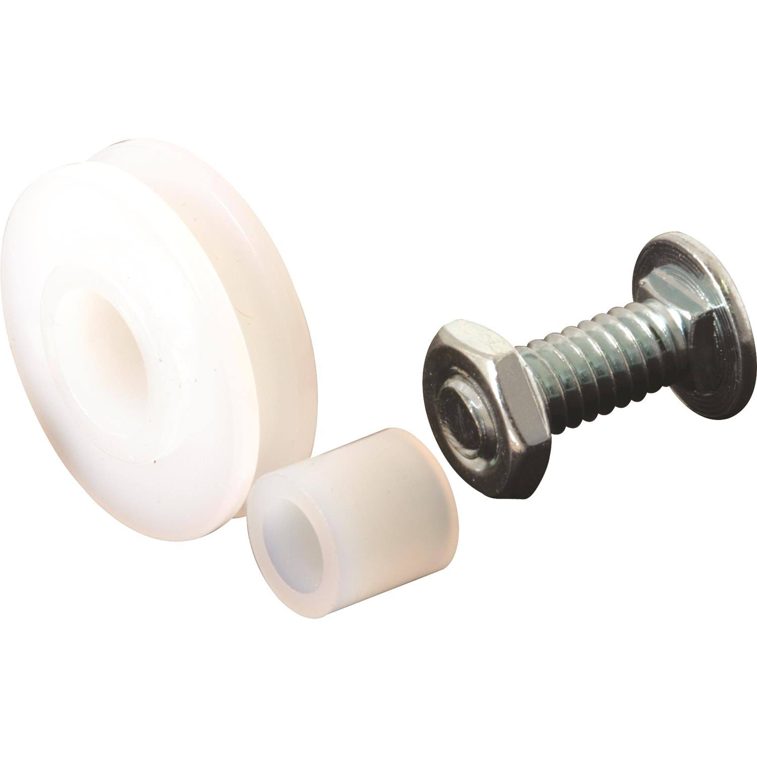 Prime-Line Nylon Sliding Screen Door Rollers with Nylon Bushing