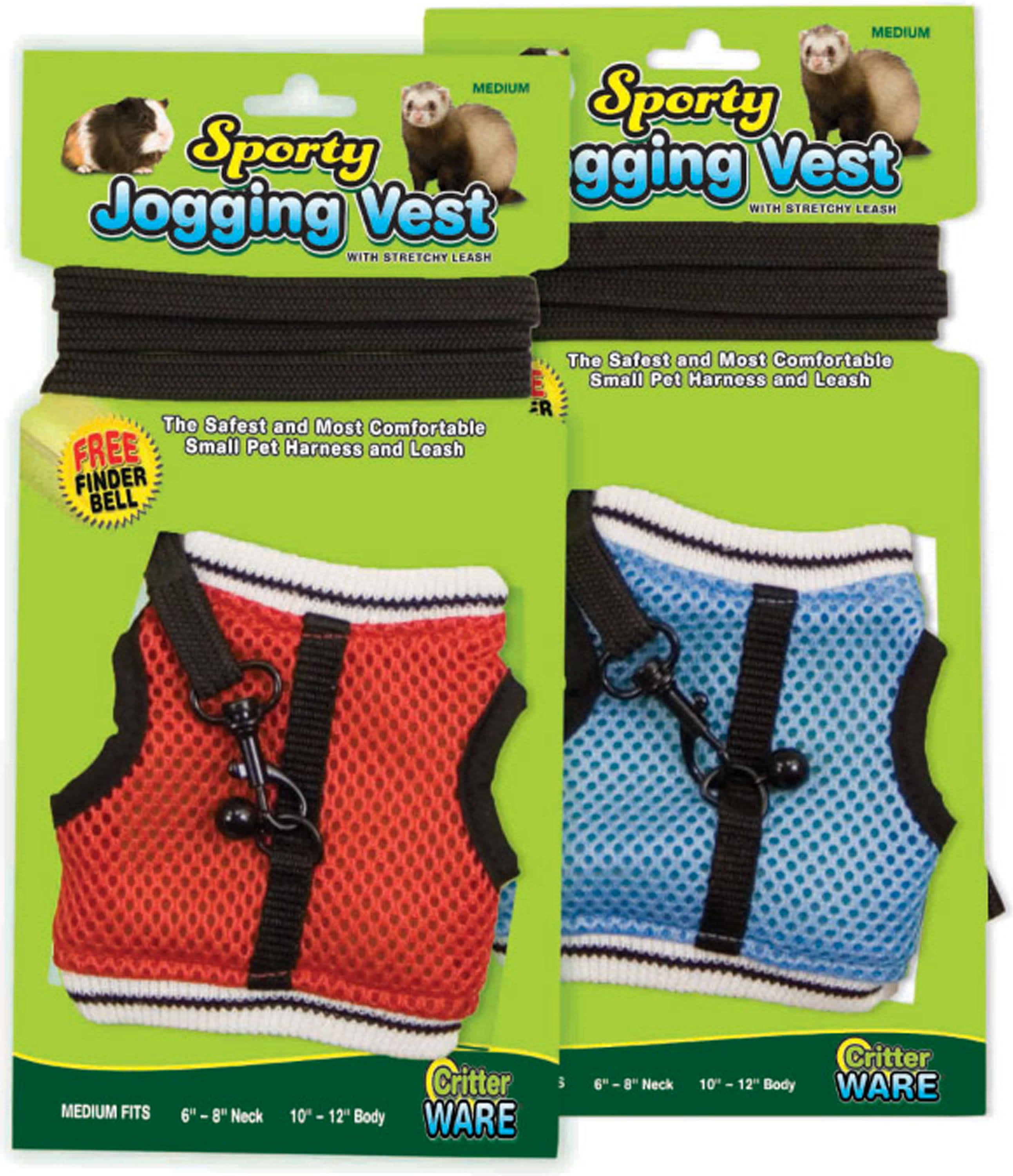 Ware Manufacturing Walk-N-Vest Pet Harness And Leash - Medium