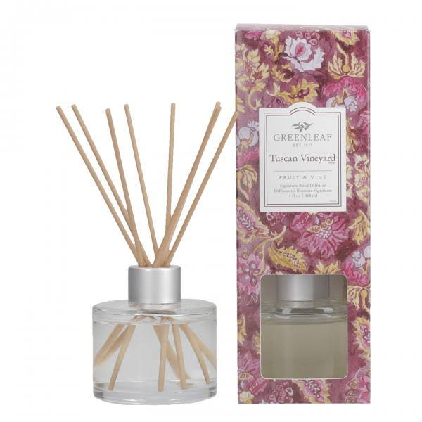 Greenleaf Gifts Tuscan Vineyard Signature Reed Diffuser