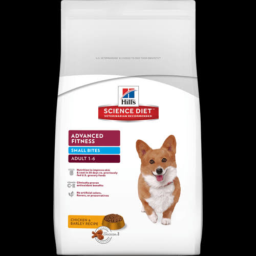 Hill's Science Diet Adult 1-6 Small Bites Chicken & Barley Recipe Premium Natural Dog Food